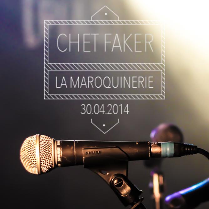 Concert de Chet Faker
